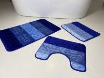 Fürdőszobai szőnyeg 3 részes - kék horgony