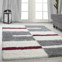 Ay gala 2505 piros 200x290cm - shaggy szőnyeg akció