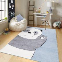 Gyerekszőnyeg akció, EPERKE 100x150cm 1110 kék pandás szőnyeg