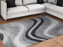 Modern szőnyeg, Franc 0439 szürke 160x230cm szőnyeg