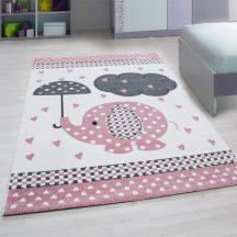 Ay kids 570 rózsaszín 80x150cm gyerek szőnyeg akciò