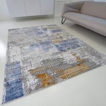 Modern szőnyeg akció, ZARIF 007 kék-arany 160x220cm