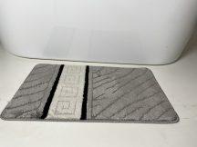 Fürdőszobai szőnyeg 1 részes - szürke görög