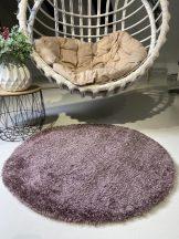Prémium lila kör shaggy szőnyeg 100cm