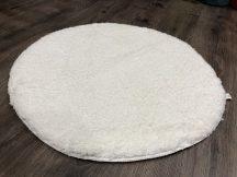 Szuper Puha Kör Szőnyeg 100Cm Fehér