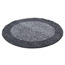 Ay life 1503 szürke 120cm - kör shaggy szőnyeg akció