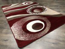 Modern szőnyeg, Platin piros 3774 160x220cm szőnyeg
