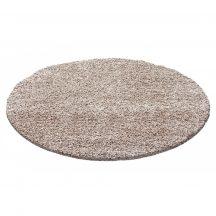 Ay dream 4000 bézs 80cm  kör shaggy szőnyeg