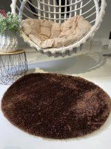 Prémium barna kör shaggy szőnyeg 100cm