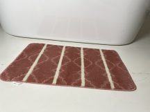 Fürdőszobai szőnyeg 1 részes - hússzínű