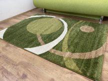 Kyra 932 zöld 200x280cm - modern szőnyeg