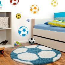 Ay fun 6001 türkiz 100cm gyerek shaggy szőnyeg