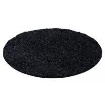 Ay life 1500 antracit 80cm egyszínű kör shaggy szőnyeg