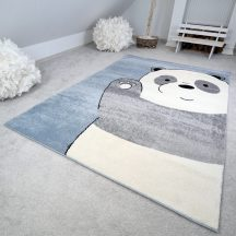 Gyerekszőnyeg akció, EPERKE 160x230cm 1110 kék pandás szőnyeg