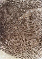 Ber Dyzayn 2218 Bézs 120X180Cm Dombor Mintás Szőnyeg