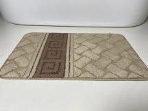 Fürdőszobai szőnyeg 1 részes - barna görög