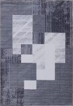 Ber Romans 2150 180X260Cm Szürke-Kék Szőnyeg