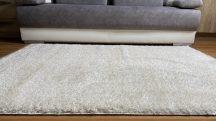 Prémium bézs shaggy szőnyeg 200x280cm