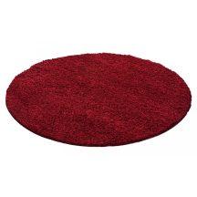 Ay dream 4000 piros 120cm kör shaggy szőnyeg