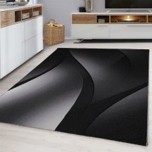 Ay plus 8010 fekete 80x300cm modern szőnyeg akció