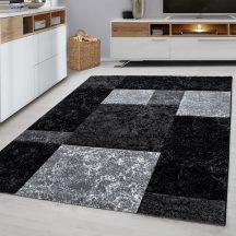 Ay Hawaii 1330 fekete 80x300cm modern szőnyeg
