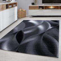 Ay plus 8008 fekete 80x300cm modern szőnyeg akció
