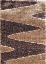 Hosszú Szálú Szőnyeg, Ber Seher 3D 2652 80X150Cm Barna-Bézs Szőnyeg
