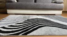 Modern szőnyeg, Platin szürke 2925 200x280cm