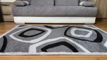 Modern szőnyeg akció, LARA szürke 5027 60x110cm