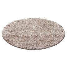 Ay life 1500 bézs 80cm egyszínű kör shaggy szőnyeg