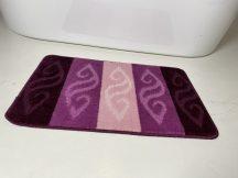 Fürdőszobai szőnyeg 1 részes - lila