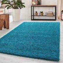 Ay dream 4000 türkiz 60x110cm egyszínű shaggy szőnyeg