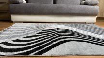 Modern szőnyeg, Platin szürke 2925 80x150cm