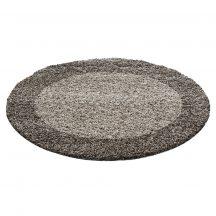 Ay life 1503 taupe 120cm - kör shaggy szőnyeg akció