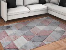 Modern szőnyeg, Franc 8797 pink 80x150cm szőnyeg