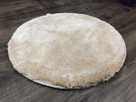 Szuper Puha Kör Szőnyeg 80Cm Krém