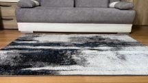 Modern szőnyeg akció, LARA kék-szürke 4862 200X280cm