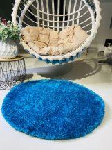 Prémium türkiz kör shaggy szőnyeg 80cm