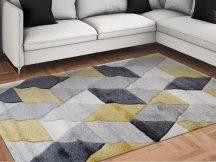 Modern szőnyeg, Franc 8797 sárga 80x150cm szőnyeg