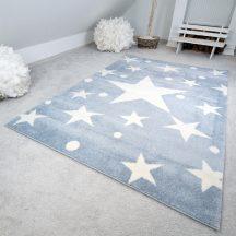 Gyerekszőnyeg akció, EPERKE 120x170cm stars kék kis csillagos szőnyeg
