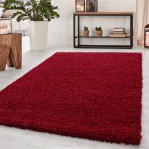 Ay dream 4000 piros 65x130cm egyszínű shaggy szőnyeg