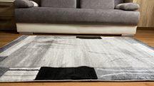 Modern szőnyeg, Platin szürke 3660 80x150cm