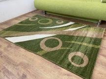 Kyra 931 zöld 150x230cm - modern szőnyeg