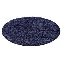 Ay life 1500 kék 80cm egyszínű kör shaggy szőnyeg