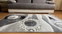 Modern szőnyeg, Platin szürke 3774 160x220cm