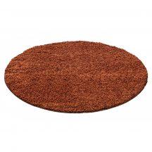 Ay life 1500 terra 80cm egyszínű kör shaggy szőnyeg