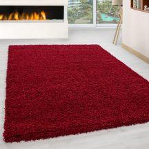 Ay life 1500 piros 160x230cm egyszínű shaggy szőnyeg