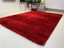 Prémium piros shaggy szőnyeg 60x110cm