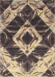 Shaggy Szőnyeg, Ber Softy 3D 2212 160X220Cm Barna Szőnyeg