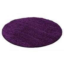 Ay dream 4000 lila 120cm kör shaggy szőnyeg